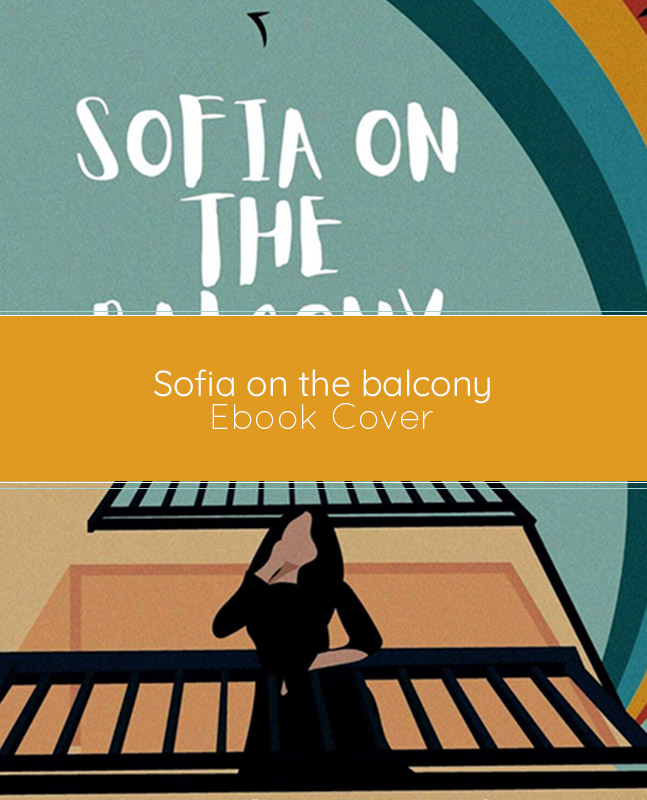 Sofia on the balcony